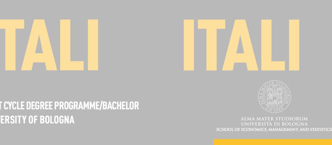 Calendario Unibo.Universita Di Bologna La Scuola Di Economia Management E